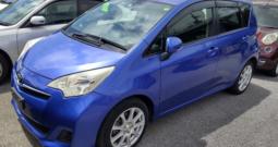 2012 Toyota Ractis (21-4-13)